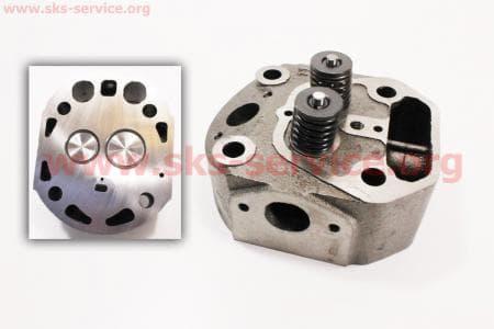 Головка цилиндра R180NM в сборе (с форкамерой) З/ч на двигатель дизельный R-175N/180N/ - 7/9 л.с.