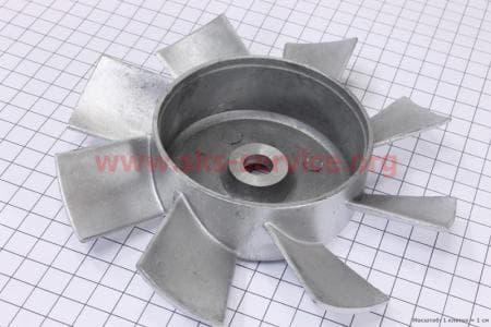 Крыльчатка вентилятора (метал) З/ч на двигатель дизельный R-175N/180N/ - 7/9 л.с.