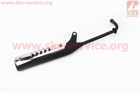 Глушитель тип 2 черный для мопеда Active (Viper)