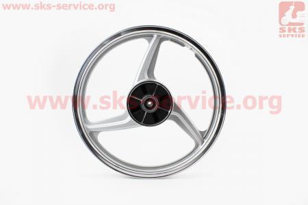 "Диск задний литой 1,6-17 ""лучи"" для мопеда SPORT50 MX50V(Suzuki) (Viper)"