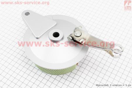 Панель тормозная задняя с колодками для мопеда SPORT50 MX50V(Suzuki) (Viper)