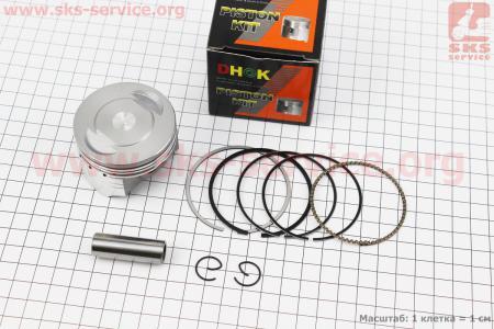 Поршень, палец, кольца к-кт 140сс 56мм STD (палец 13мм) для ПИТБАЙКА - PIT BIKE Viper V125P (ENDURO)