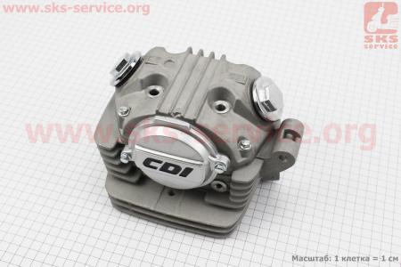 Головка цилиндра в сборе CB-150cc полный к-кт (под патрубок сапуна) для мотоцикла VIPER-125-J (двигатель СВ-125сс-200сс)