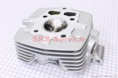 Головка цилиндра 125cc-56,5mm (голая) на двигатель CG125-250cc (с толкателями), на ZUBR
