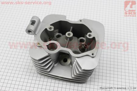 Головка цилиндра 150cc-62mm (голая) на двигатель CG125-250cc (с толкателями), на ZUBR