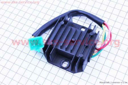 Реле-регулятор напряжение для мотоцикла VIPER - F5