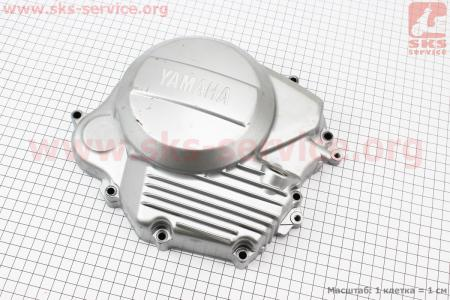 Крышка двигателя правая, тип 2 для мотоцикла JIANSHE YB125 / Yamaha - YBR125