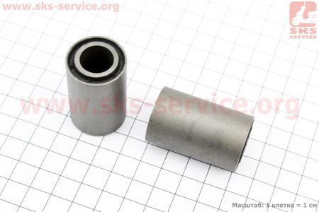 Сайлентблок двигателя к-кт 2шт (25*14*45) для мотоцикла Loncin KINLON JL150