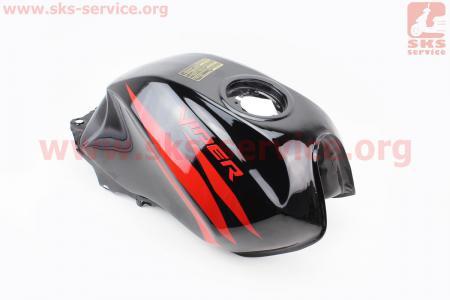 Бак топливный, ЧЕРНЫЙ для мотоцикла VIPER V150A (STREET)