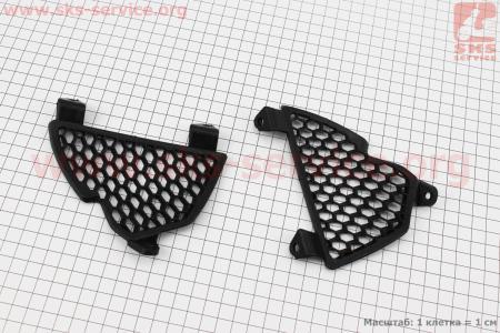 пластик - решетка юбки к-кт 2шт (STREET) для мотоцикла VIPER V150A (STREET)