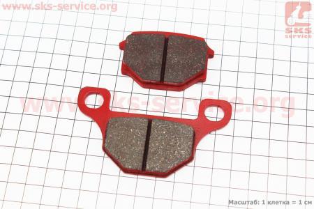 Тормозные колодки передние (диск) красные для мотоцикла VIPER V150A (STREET)