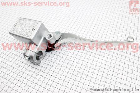 ТОРМОЗНОЙ цилиндр главный правый на руле, Тип №1 для мотоциклов разных моделей (Китай, импорт)