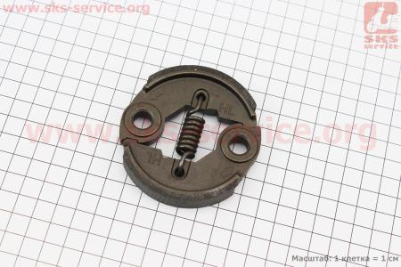 Сцепление (короткая пружина) Ø76mm, металл усиленное, для мотокос и бензобуров