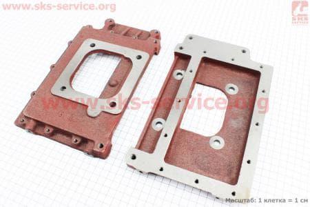 Пластина крепления радиатора R175A/R180NM З/ч на двигатель дизельный R-175N/180N/ - 7/9 л.с.