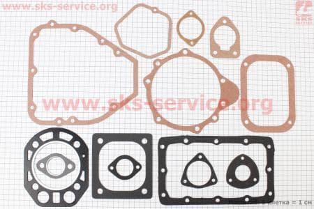 Прокладки двигателя к-кт (13шт) R175А З/ч на двигатель дизельный R-175N/180N/ - 7/9 л.с.