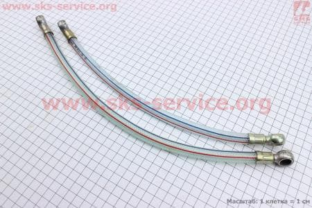 Трубка - шланг топливный к-кт 2шт Тип №1 З/ч на двигатель дизельный R-175N/180N/ - 7/9 л.с..
