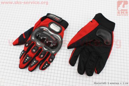 Перчатки L-красные