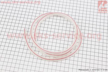 Шланг топливный силикон ПРОЗРАЧНЫЙ (внешн.7мм, внутр. 5мм) - 1метр