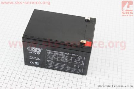 Аккумулятор OT12-12 - 12V12Ah (L151*W98*H96mm) для ИБП, игрушек и др. для разной мототехники