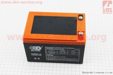 Аккумулятор 6DZM10 - 12V10Ah (L150*W100*H100mm) для ИБП, игрушек и др., 2019