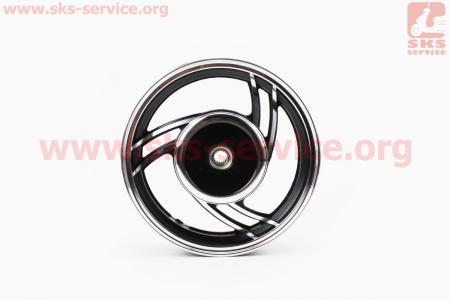 D02 Диск литой задний (бараб. торм., Wind) 2,15x10, тип 2 для китайских скутеров