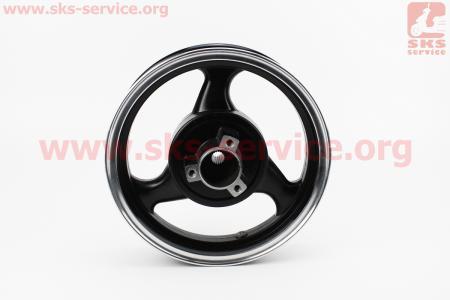 D23 Диск литой задний (диск. торм. для 4Т 150cc-19шлицов)  2,50xN12, ЧЕРНЫЙ для китайских скутеров