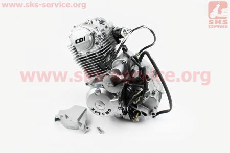 Двигатель мотоциклетный в сборе CB-125cc (на Viper-125J)