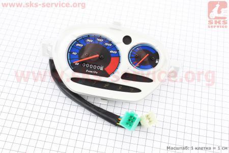 Спидометр в сборе для мопедов SPORT50 MX50V(Suzuki) (Viper)