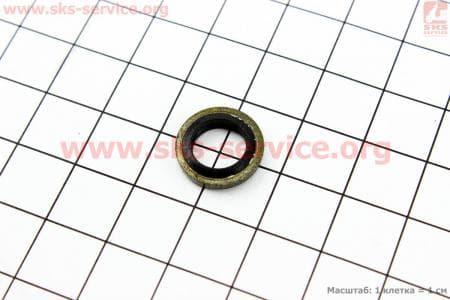 Шайба топливопровода низкого давления (прорезиненая) 8х13,5х2 З/ч на двигатель дизельный R-175N/180N/ - 7/9 л.с.