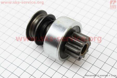 Бендикс электростартера Z=9, Lзуба=17,5мм R190N/195NM З/ч на двигатель дизельный R190N(NM)/R195N(NM)