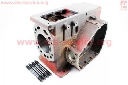 Блок двигателя в сборе R195NM (Вариант А) З/ч на двигатель дизельный R190N(NM)/R195N(NM)