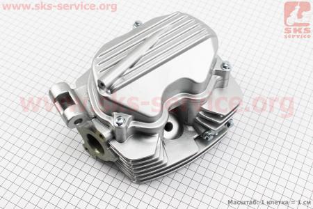Головка цилиндра 125cc-56,5mm (полный к-кт) на двигатель CG125-250cc (с толкателями), на ZUBR