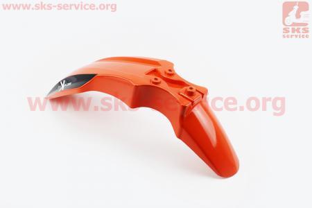Viper - V200R пластик - крыло переднее, ОРАНЖЕВЫЙ для мотоциклов разных моделей (Китай, импорт)