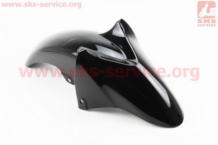 Viper - V200-R2 пластик - крыло переднее, ЧЕРНЫЙ для мотоциклов разных моделей (Китай, импорт)