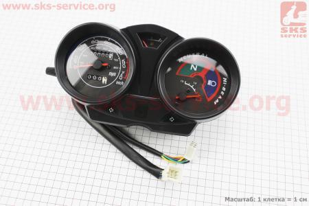 Viper - V200N Спидометр в сборе 140км (тахометр электронный) для мотоциклов разных моделей (Китай, импорт)