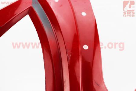 Defiant - Renspeed Пластик передний основной (где фара), КРАСНЫЙ для мотоциклов разных моделей (Китай, импорт)