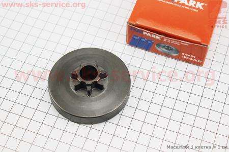 """Тарелка сцепления """"звезда"""" 325-7 (цельная) для китайских бензопил"""