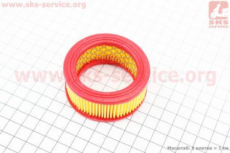 Фильтр воздушный 4500/5200 - элемент (круглый, бумажный 64x30мм) для китайских бензопил