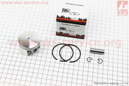 Поршень, палец, кольца, к-кт MS-260 44,7мм (палец 10мм) к бензопилам STIHL