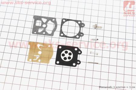 Ремонтный комплект карбюратора MS-240/260, 8 деталей к бензопилам STIHL