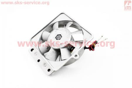 Вентилятор в сборе R190N (со статором) З/ч на двигатель дизельный R190N(NM)/R195N(NM)
