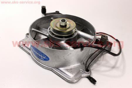 Вентилятор в сборе R195NM (со статором) З/ч на двигатель дизельный R190N(NM)/R195N(NM)