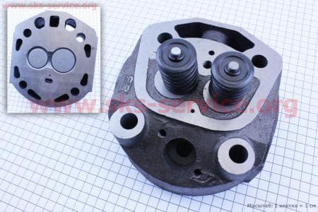 Головка цилиндра R190N в сборе З/ч на двигатель дизельный R190N(NM)/R195N(NM)