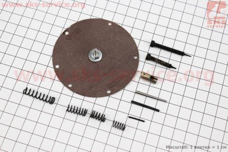 Ремонтный комплект карбюратора КМП 100-АР (В-45) ДРУЖБА, 11 деталей к бензопилам СССР