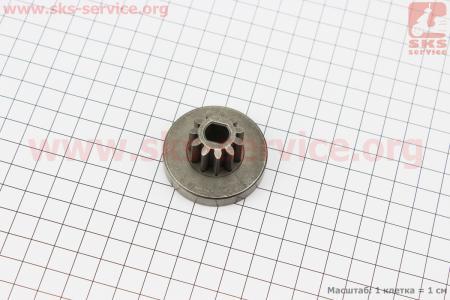 Ответная часть шестерни (D1=45мм, D2=22,5мм, d=8/10мм, H=24,5мм, Z=11) для электропил
