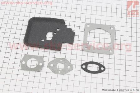 Прокладки двигателя к-кт 5шт для Stihl FS-38/45/55 для мотокосы