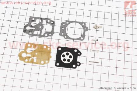 Ремонтный комплект карбюратора ОLEO MAC SPARTA 25, 8 деталей для мотокосы