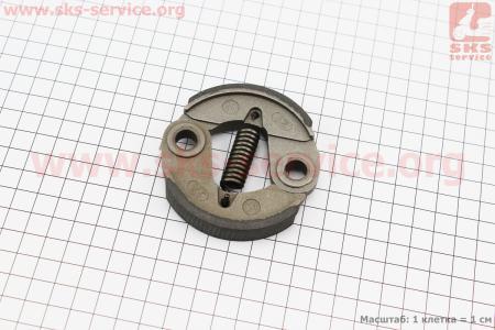 Сцепление (длинная пружина) Ø76mm, алюминий для мотокосы
