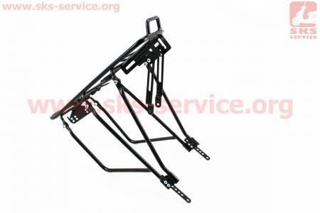 """Багажник 24 - 26"""", черный для велосипедов"""