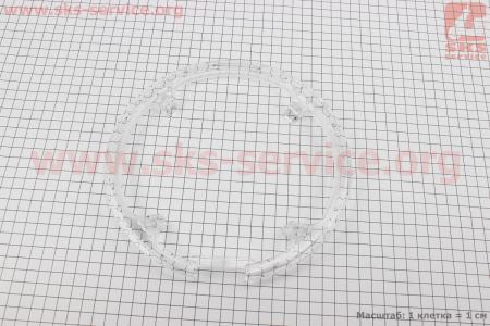 Защита шатуна на 4 отверстия 48Т, пластмассовая, прозрачная MYG-01 для велосипедов